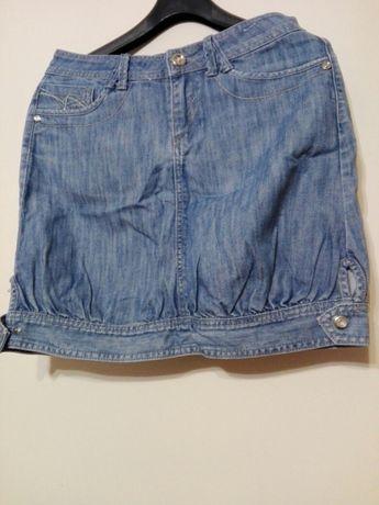 Rozmiar 30 jeansowa spódnica