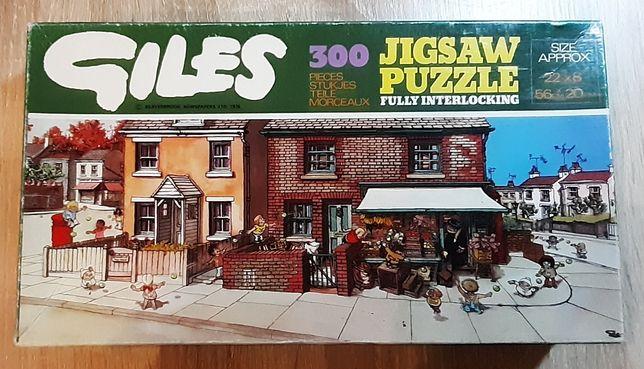 Sprzedam puzzle Giles 300 elementów