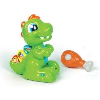 Baby t rex brinquedo interativo clementoni