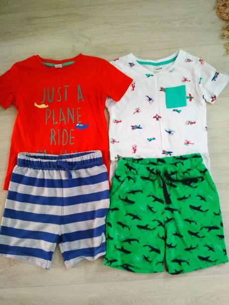Детские шорты waikiki , футболки waikiki, h&m, george 3-4года,