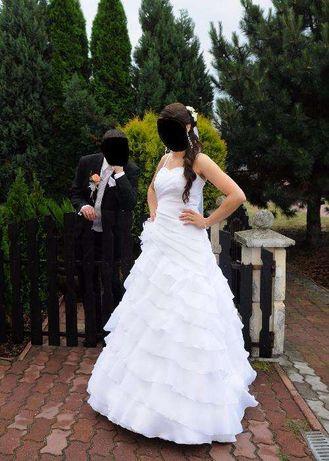 suknia ślubna salon IGAR rozm.38 wzrost 168+obcas