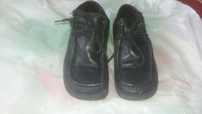 Детские кожаный туфли