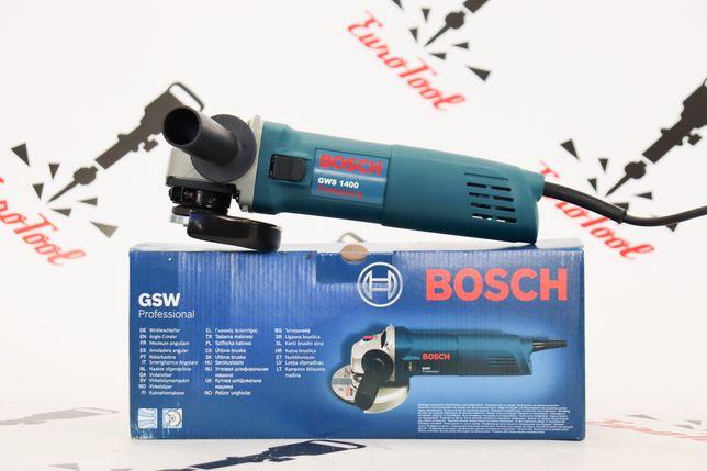 Болгарка Bosch GWS 1400, 1400 Вт (заводская сборка) Латвия