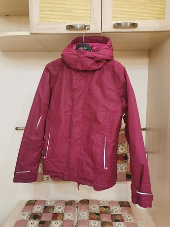 Рожева лижна куртка