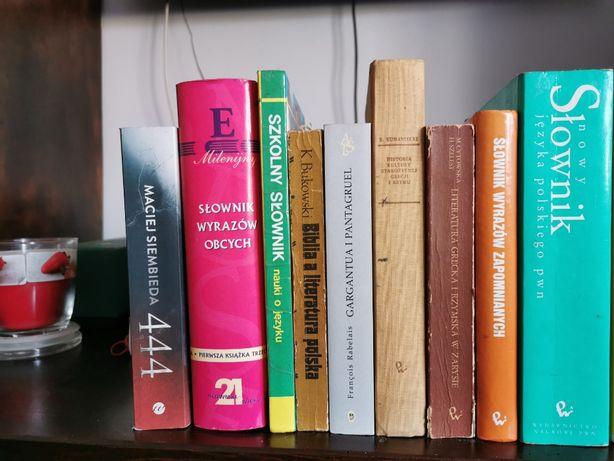 Książki o różnej tematyce