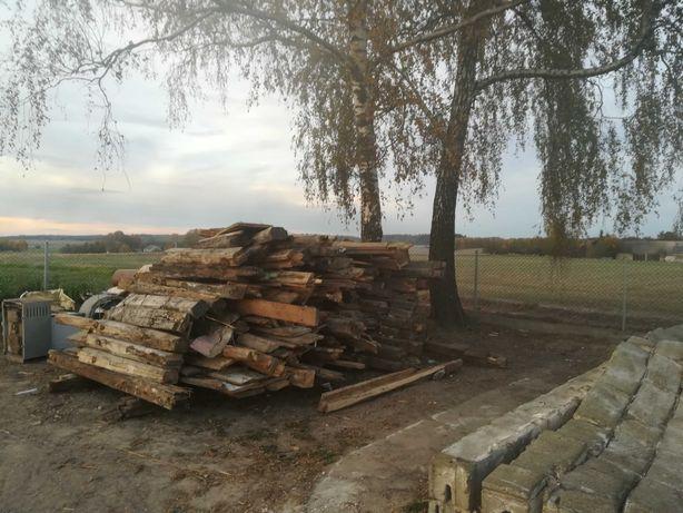 Sprzedam drzewo z rozbiórki domu