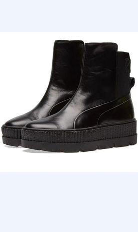 """Ботинки,челси""""Puma""""натуральная кожа"""