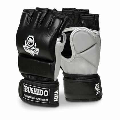 BUDO-E 1 - Skórzane rękawice treningowe do MMA, Krav Magi
