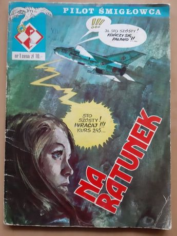 Pilot Śmigłowca- 8 komiksów
