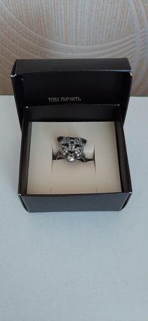 Каблучка срібна, кольцо