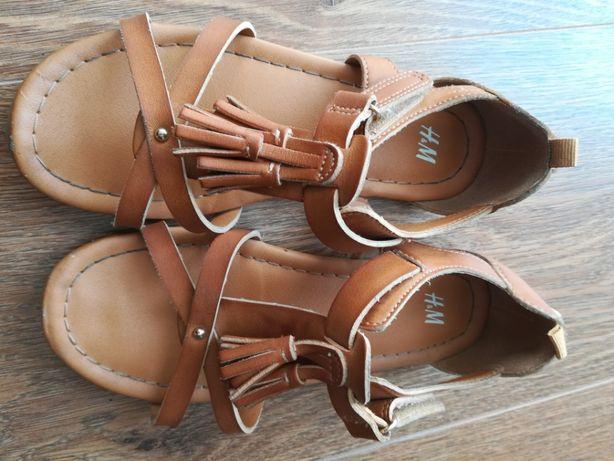 Sandałki H&M i japonki