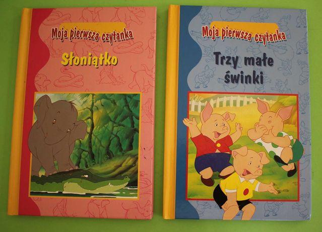 Moja pierwsza czytanka Słoniątko + Trzy małe świnki Van Gool