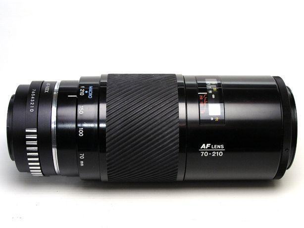 Minolta Maxxum 70-210 1:4 beercan Sony A Minolta адаптер Sony NEX Alph