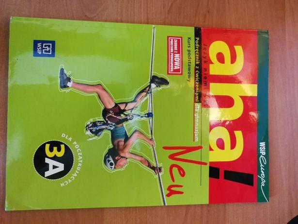 Aha! Neu język niemiecki podręcznik z ćwiczeniami 3A WSiP