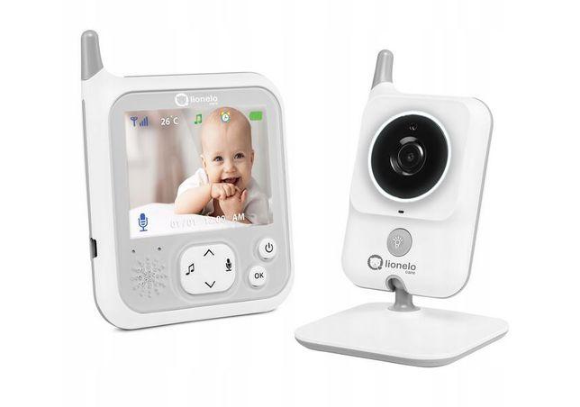 Niania elektroniczna z kamerą Lionelo babyline 7.1