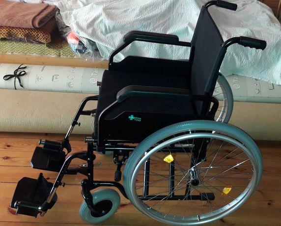 Wózek inwalidzki + chodzik +WC - NOWE, gwarancja.