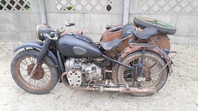 M-72 ural dniepr k-750 motobazar-prl.pl radzieckie boksery