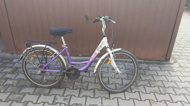 Rower dla dziwczynki