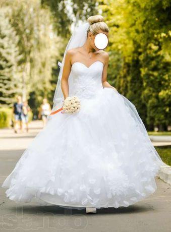 Весільна сукня Mankir Alona + туфельки