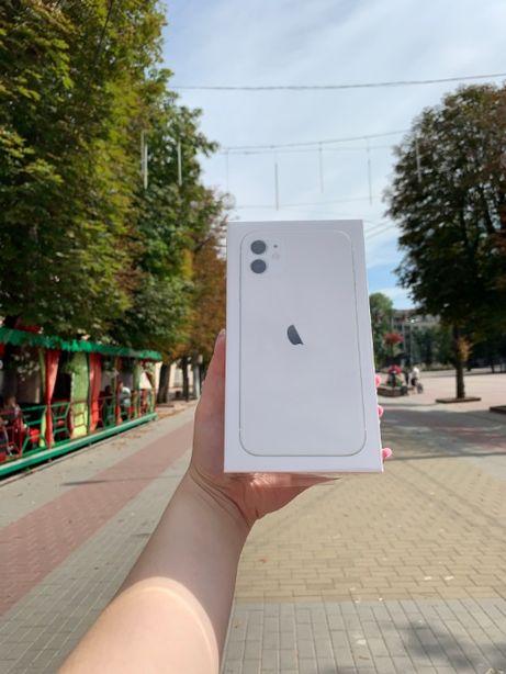 Новий iPhone 11 64Gb / 128Gb / 256Gb white з гарантією від Zарядка