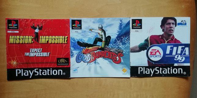 Manuais Playstation Originais