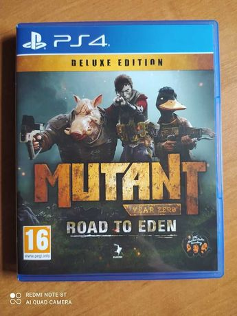 Mutant Year Zero Road to Eden Deluxe Edition PS4 PL