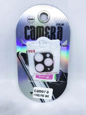 Película de vidro temperado câmara traseira iPhone 11 Pro / 11 Pro Max