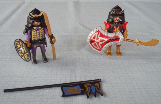 Playmobil rycerze z Chin 2 sztuki