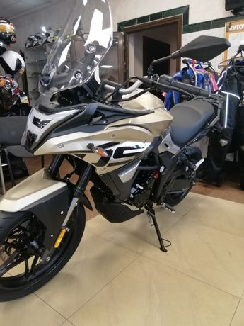 Новинка! Акція Мотоцикл спорт турист ендуро Loncin Voge 300, DS.