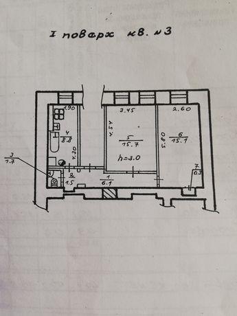 Продам 2-ух комнатную квартиру на Чкалова