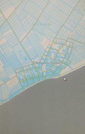 Продам земельный участок на берегу моря.