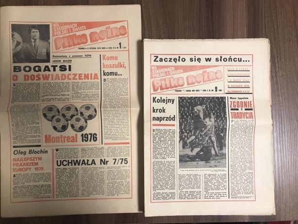 Tygodnik Piłka Nożna rocznik 1976 komplet