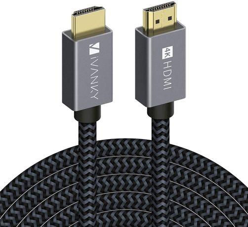 iVANKY 25ft High Speed 4K HDMI kompatybilny z UHD TV, Blu-ray , PS4