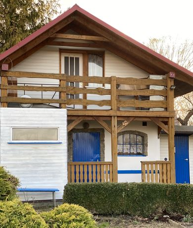 Działka rekreacyjna ROD Bielsko-Biała murowany domek
