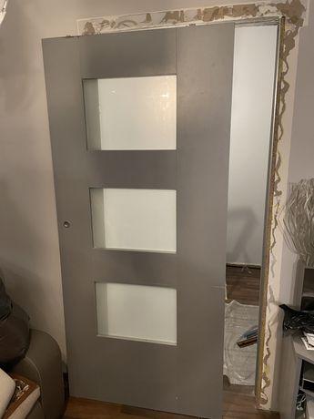 Drzwi przesuwne 96x212x4cm