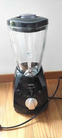 Liquidificadora da Braun. Copo em vidro