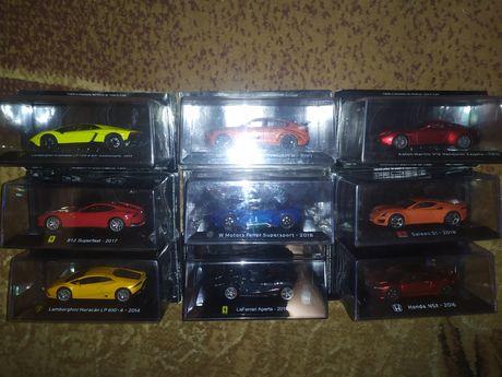 Модели 1/43 журналка Supercars от Centauria