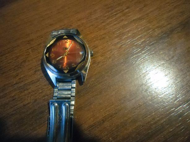 """Zegarek naręczny męski mechaniczny- Auto """" 5""""- na chodzie."""