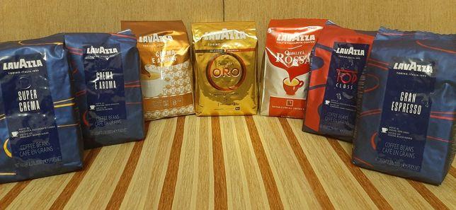 Lavazza 1 kg Лаваза Лавацца кава кофе более 8 видов Coffee