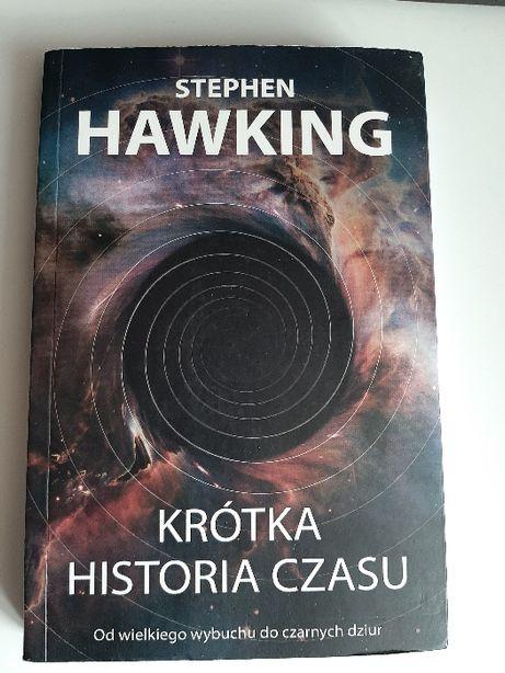 "Książka ""Krótka historia czasu"" Stephen Hawking"