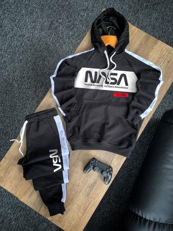 Мужской спортивный весенний костюм Наса. Худи + штаны. ТОП-качество!
