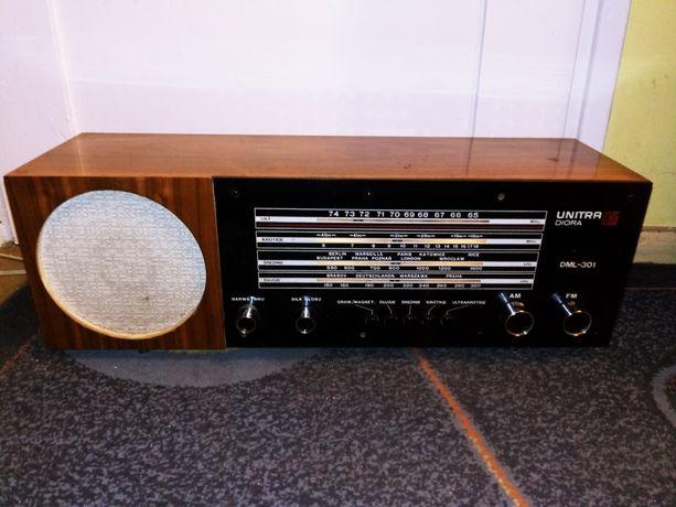 Radio UNITRA Diora DML 301 super Rarytas dziala TanioOkazja