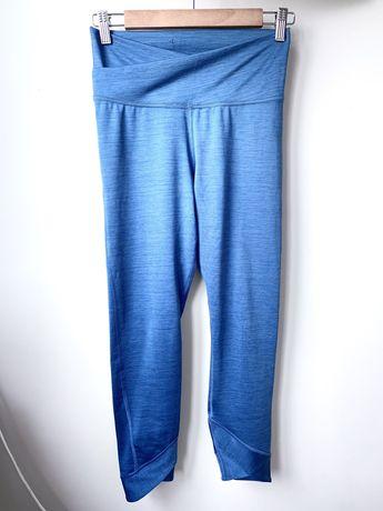 Legginsy morskie/niebieskie 3/4 Nike