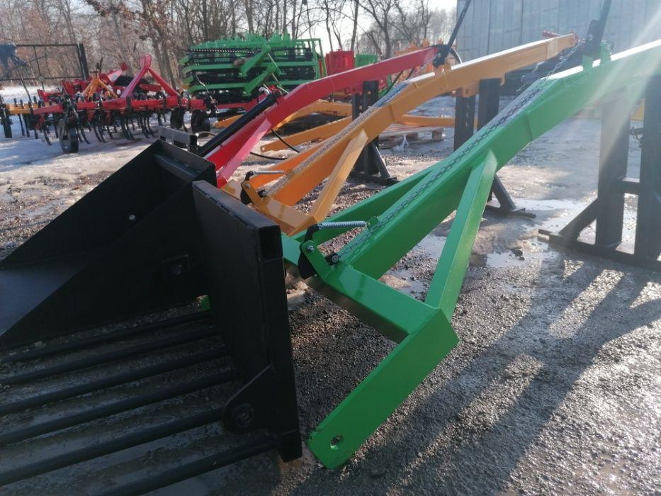 Podnośnik, widły do obornika, tur na tył traktora Filpol producent Lubraniec Parcele - image 1