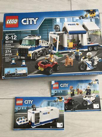 Lego Лего City оригинал полиция Мобильный командный центр 60139