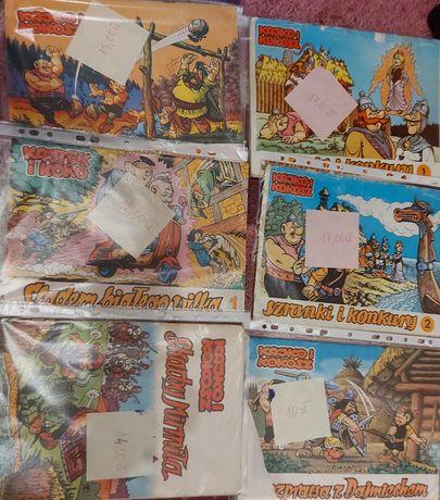 Zestaw 6 komiksów Kajko i Kokosz