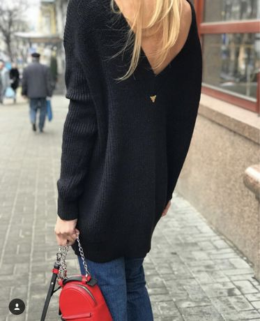 Шерстяное свитер платье