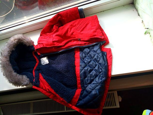 Зимняя курточка унисекс на 1 год