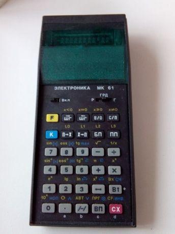 калькулятор СССР электроника