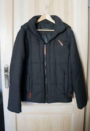 kurtka męska zimowa ciepła elegancka Top Secret reserved młodzieżowa